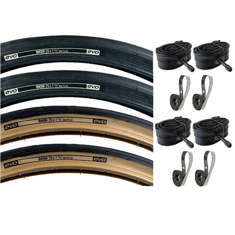 Image of Vee Rubber Evo Dash 26x1-3/8 Tire and Inner Tube Kit   ISO 37-590