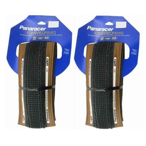 Image of Panaracer Gravelking SK TLC 700c Tubeless Ready Folding Tire - TheBikesmiths