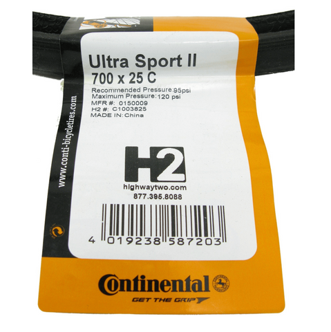 Continental Ultra Sport II 700c Tire 2-Pack - TheBikesmiths