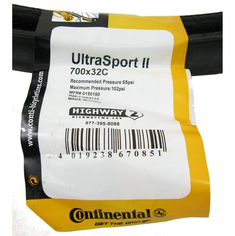 Image of Continental Ultra Sport II 700c Tire - TheBikesmiths