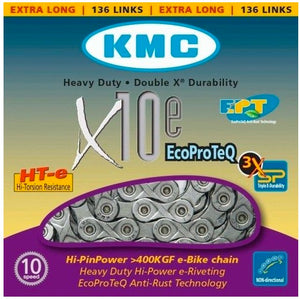 KMC e10 EPT 10-Speed Chain 136 Links