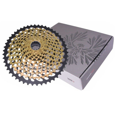 Image of SRAM Eagle XX1 GOLD 12 Speed 4 Piece Groupset - TheBikesmiths