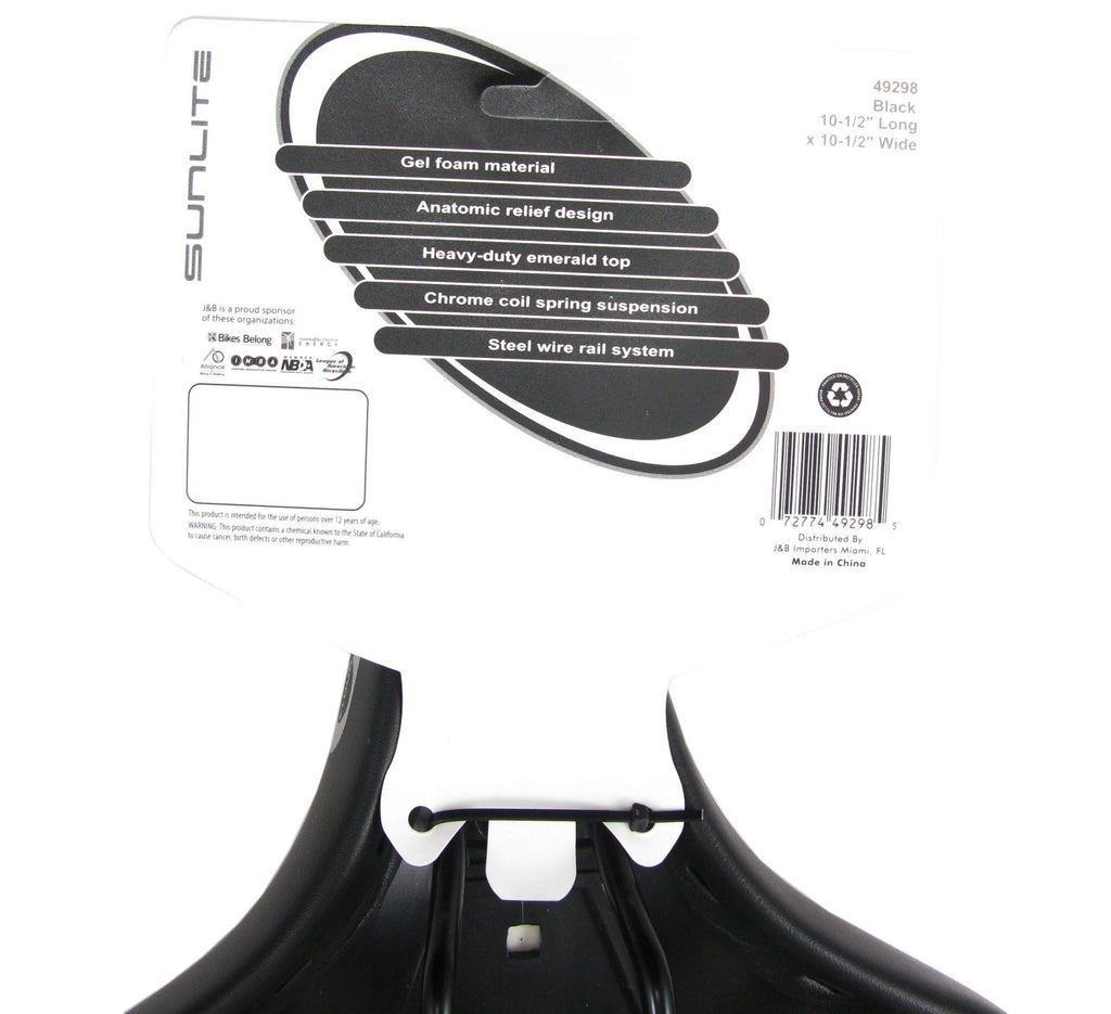 Cloud 9 Cruiser Anatomic HD Spring Saddle - TheBikesmiths