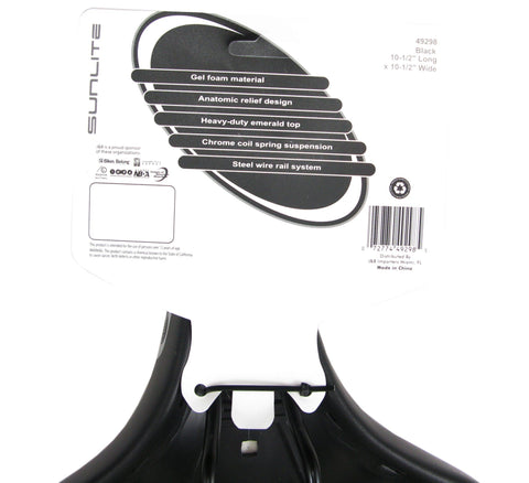 Image of Cloud 9 Cruiser Anatomic HD Spring Saddle - TheBikesmiths
