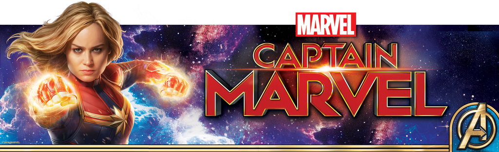 Captain Marvel Official Fine Art Collection