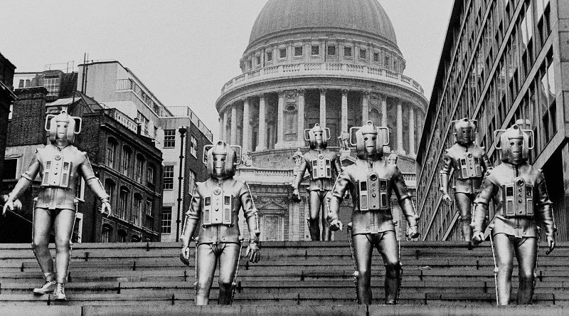 Doctor Who Rise of the Cybermen - St Pauls Cathedral
