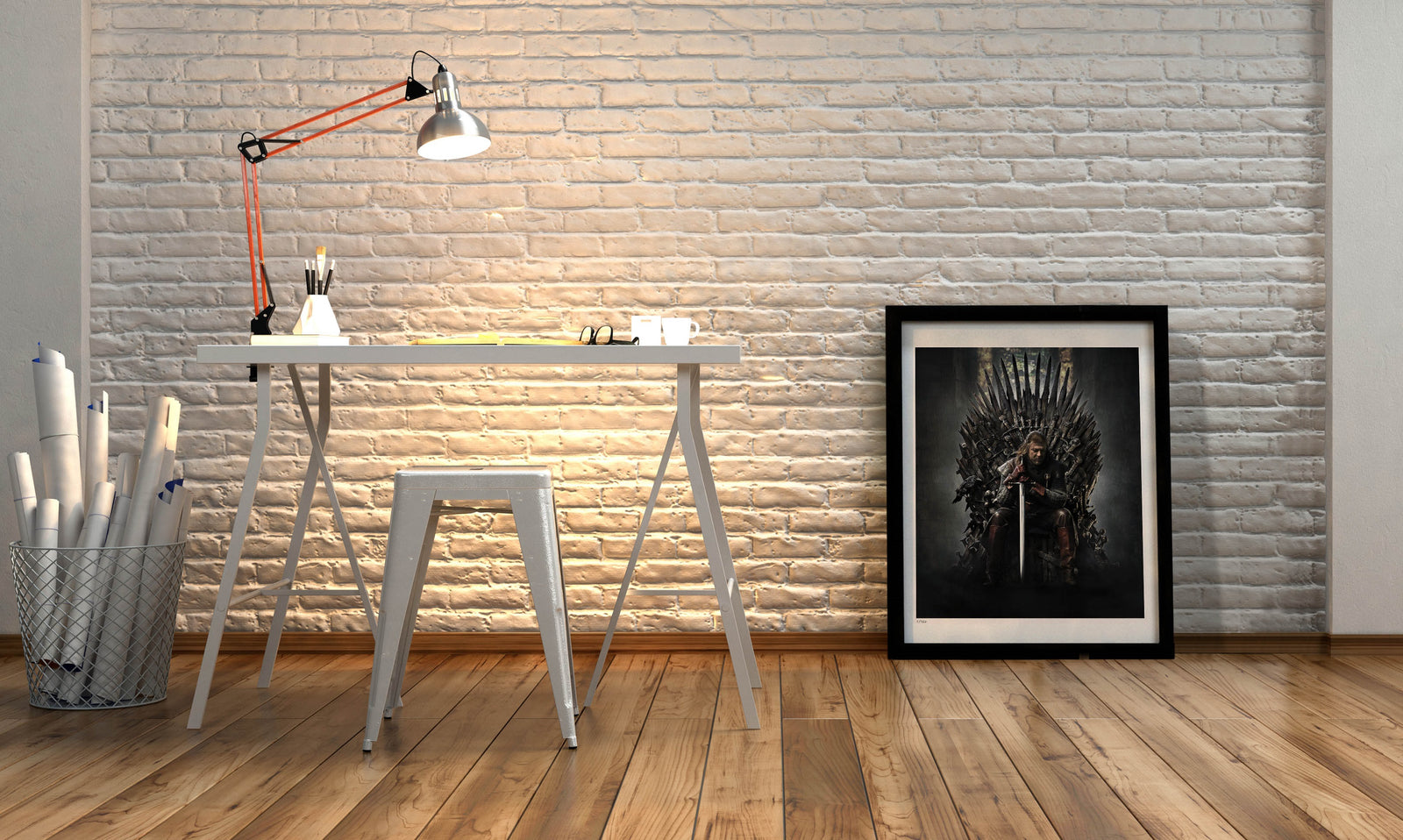 Game of Thrones Fine Art Ned Stark