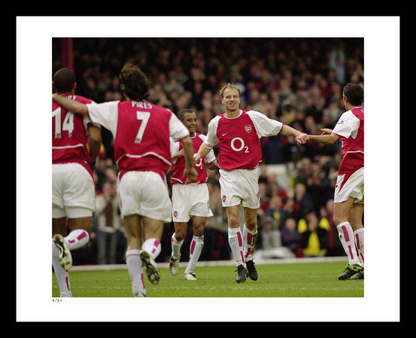 9773d7eeb02 Arsenal FC Wall Art - The Official  Invincibles  Fine Art Collection ...