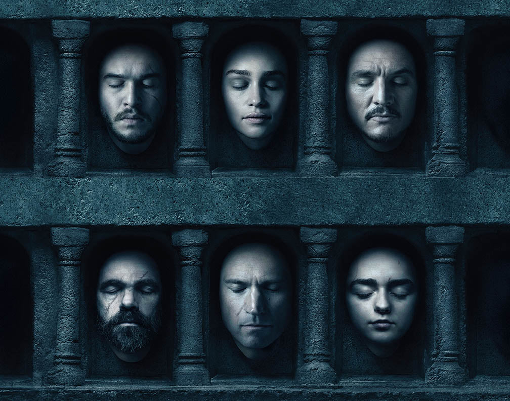 Game Of Thrones Hall Of Faces Limited Edition Fine Art
