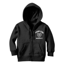 Load image into Gallery viewer, Young King University Zip Hoody