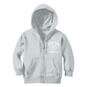 Young King University Zip Hoody