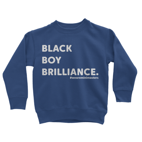Black Boy Brilliance Sweatshirt