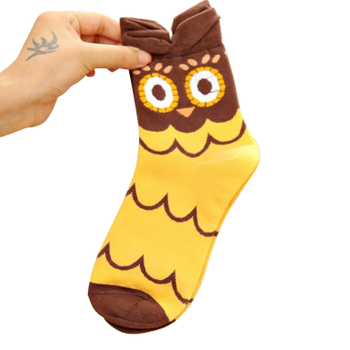 Women's Owl Socks