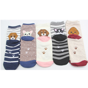 Women's Puppy Feet 5 pack