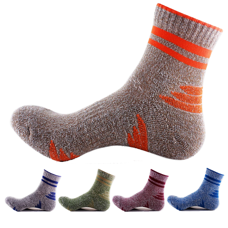 Anti-Slide Wool Socks 5 Pack