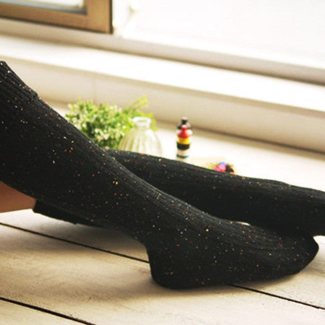 Women's Autumn Long Wool Socks