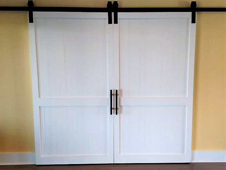 Center Slat Barn Door