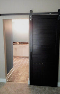 Horizontal Slat Barn Door