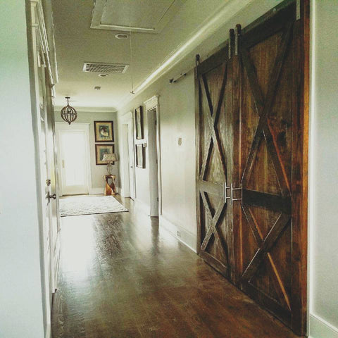 Double X Barn Door