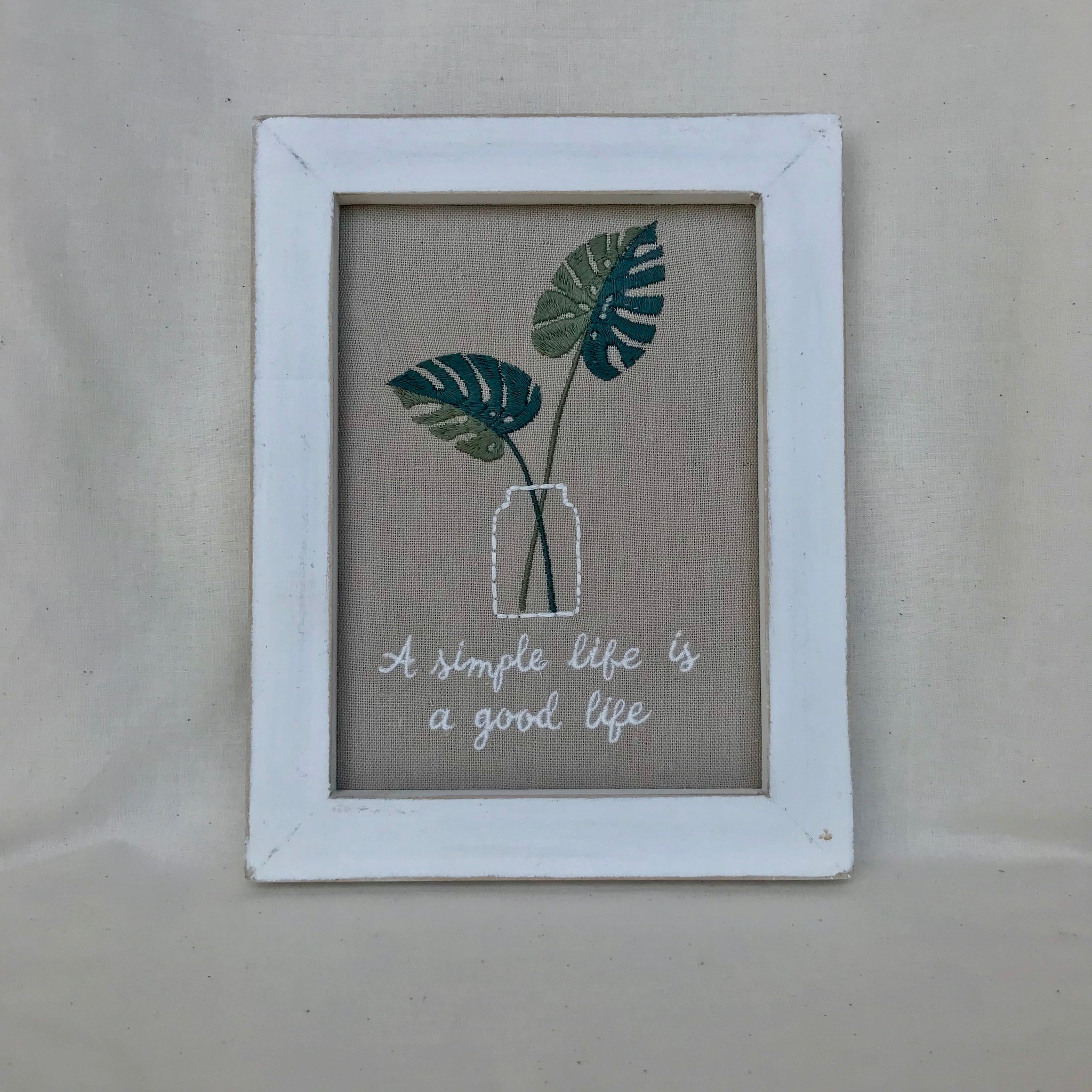 A Simple Life Sign