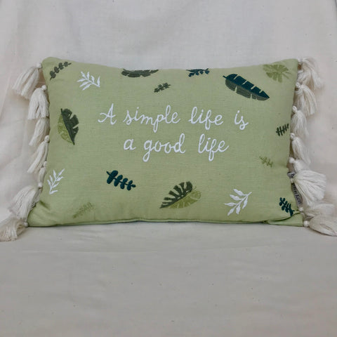 A Simple Life Accent Pillow