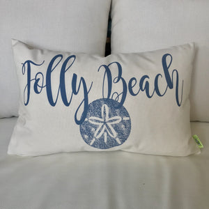 Folly Beach Accent Pillow