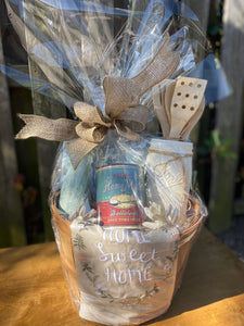 Home Sweet Home Gift Basket