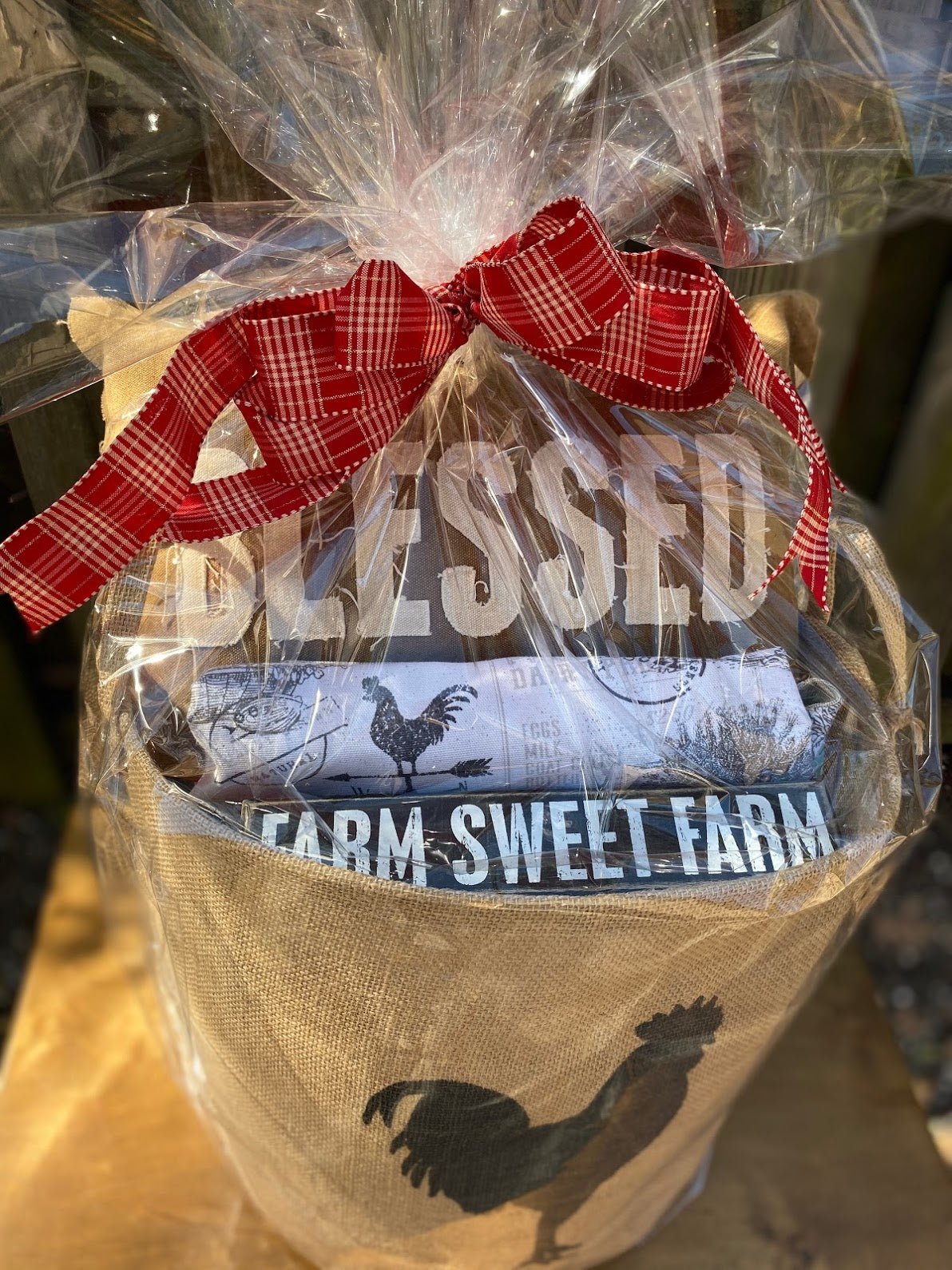Farm Sweet Farm Gift Basket  (Ships in 2 Days)