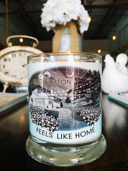 BLU Cotton 'Feels Like Home' Candles