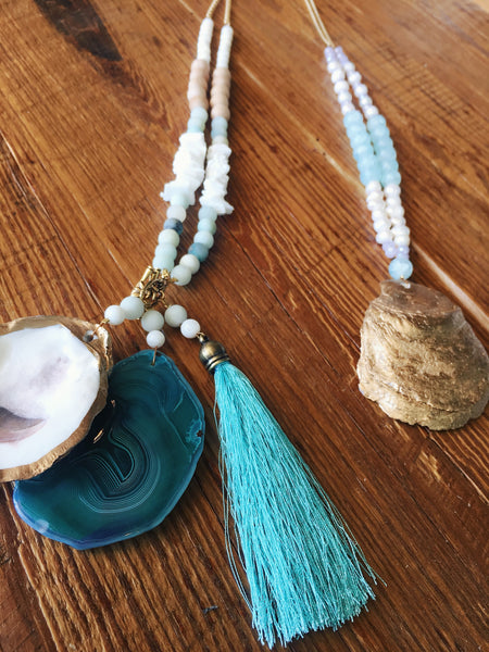 Oyster Shell Necklaces