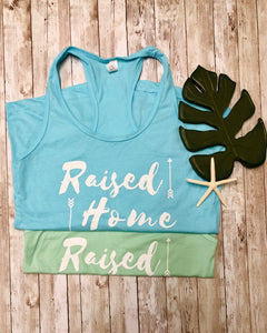 Raised Up Down Home Tank Top