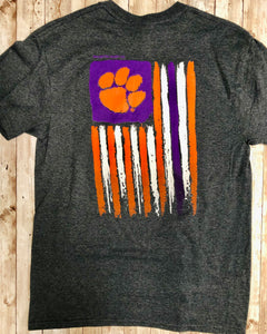 Clemson T-Shirt in Charcoal