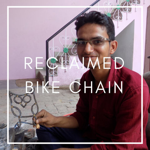 Artisan Artform Reclaimed Bike Chain