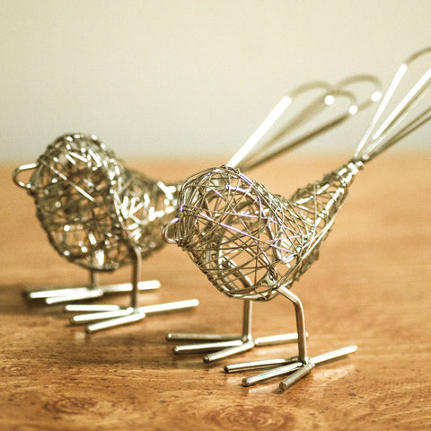 Wrapped Wire Birds