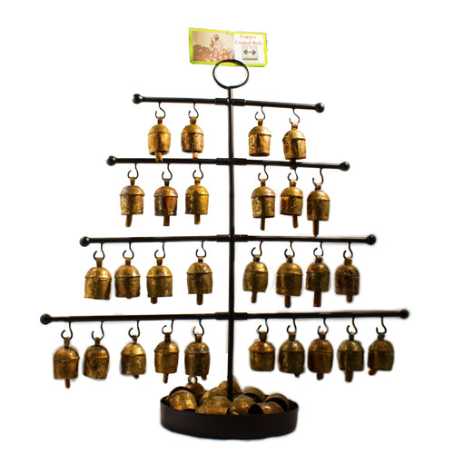 Mini bell display tree can be used to show off your mini bells to customers at the counter!