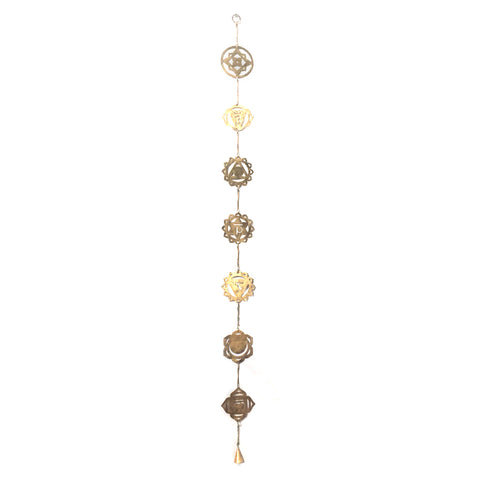 Gold Chakra Chime- PREORDER - Expected in stock 2/17