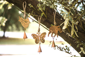 Cutout Elephant Chime-Mini