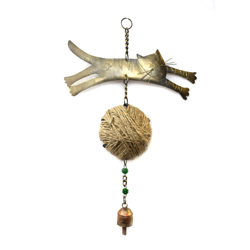 NEW! Playful Cat Chime