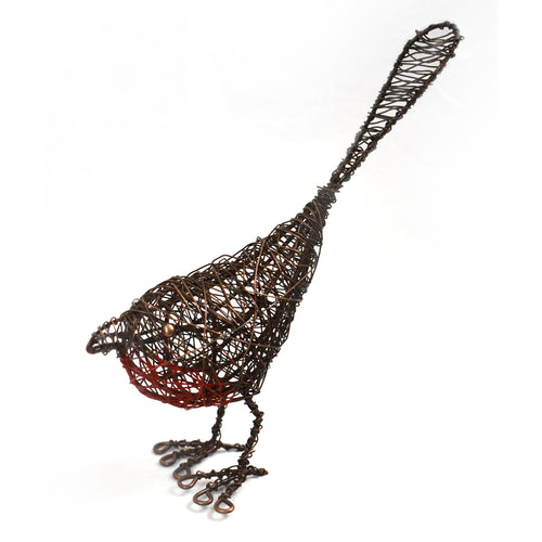 Wrapped Wire Robin