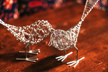 Silver Wire Birds - Set of 2