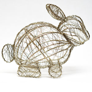 Wrapped Wire Bunny