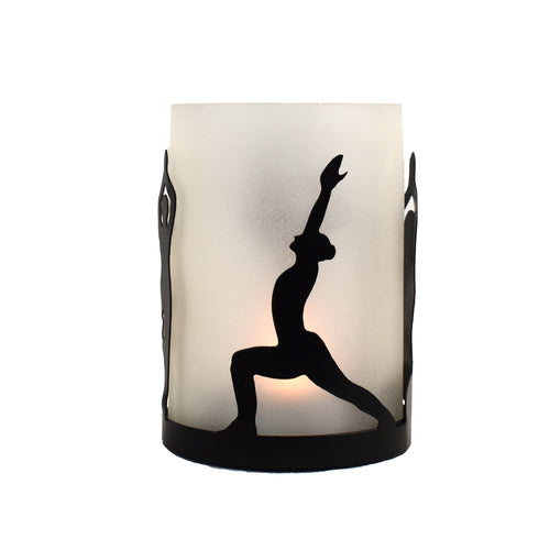 Yoga Tea Light Holder