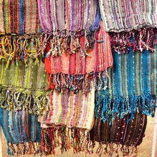 Loose Weave Scarves (Set of 12 assorted colors)