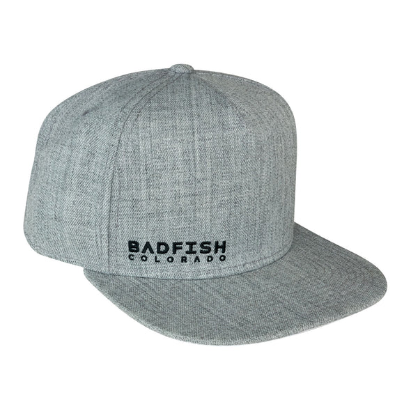 Grey Wool Snapback Hats