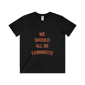 We Should All Be Feminists - Softstyle® Adult V-Neck T-Shirt