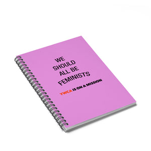 We Should All Be Feminists Spiral Notebook - Ruled Line