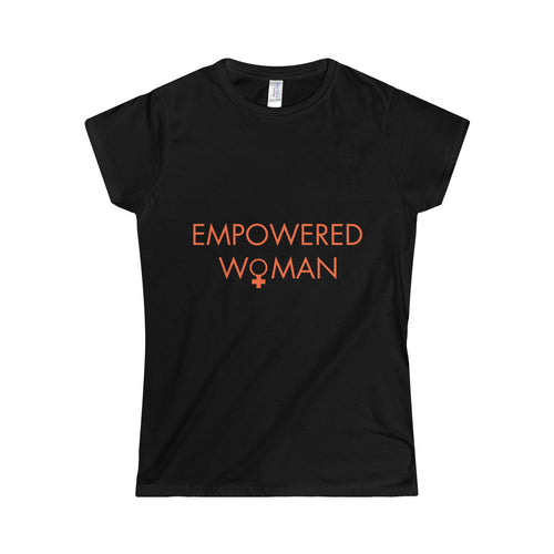 Empowered Woman - Softstyle Women's T-Shirt