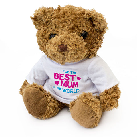 Best Mum In The World Teddy Bear