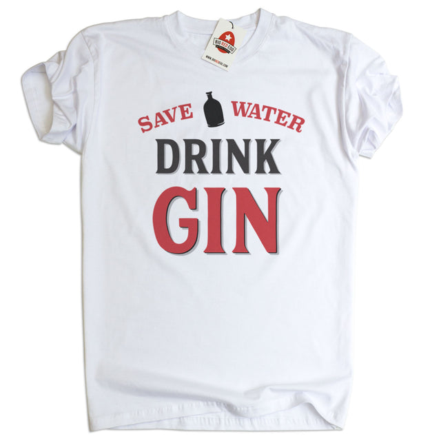 Save Water Drink Gin T-Shirt