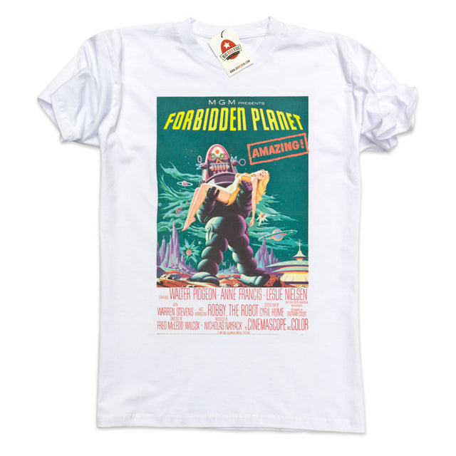 Forbidden Planet Vintage Movie Poster T-Shirt